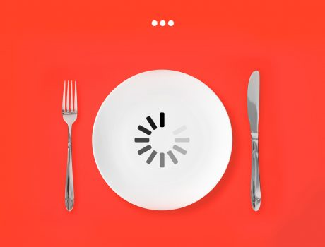 Your dinner is buffering – Kitchen Hero kitchen machine campaign